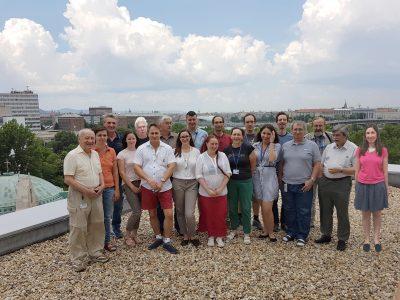 A Plazmakémiai kutatócsoport 2018-as csoportképe